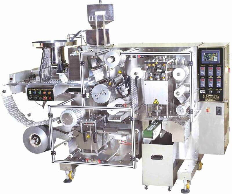 PTP Blister Packaging Machine, tablet packing machine