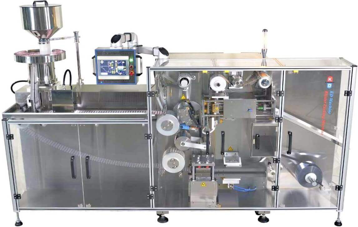 Blister Packaging Machine, tablet filling machine